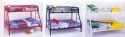 Red Twin Over Full Metal Bunk Bed - Children