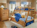 Savannah Twin/Full Wooded Bunkbed