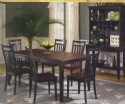 7 Piece Butterfly Leaf Table Set