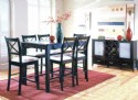 Kent Cappuccino Finish Dining Set w/ Server