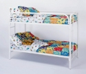 Twin Over Twin Metal Bunk Bed ~ Choice of Colors