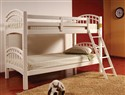 Twin/Twin Stackable Wood Bunkbed ~ White