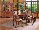Harmony 7-Piece Traditional Oval Dining Table and