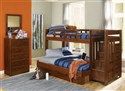 Heartland Twin/Full Reversible Staircase Bunk Bed