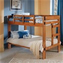 Pine Twin/Twin Wooden Bunkbed