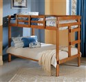 Solid Wood Twin/Twin Bunk Bed 2400