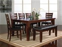 Bardstown Table with/4 Side Chairs and Bench