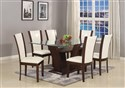7 Piece Camelia Dining Group ~ White