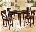 Lifestyle 5 Piece Pub Table Set w/ Ladder Back Pub
