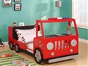 37525 Red Fire Truck Twin Size Bed